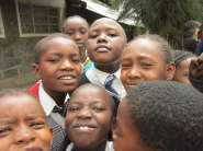 Happy kids in Kiti!