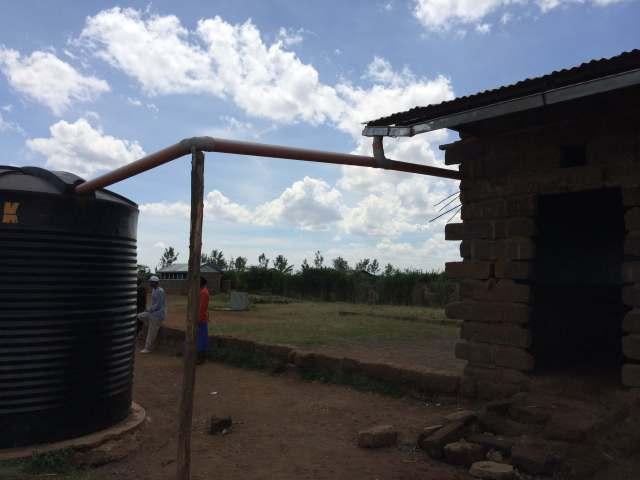 clean water tank