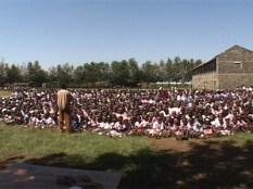 1400 students at Lanet Umoja Primary School