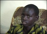 EC is providing scholarships for students like this young boy who struggles with school fees and uniform costs