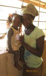 a Kenyan mama and her baby