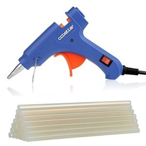 CCbetter-Mini-Hot-Melt-Glue-Gun-with-25pcs-Glue-Sticks-High-Temperature-Melting-Glue-Gun-Kit-Flexible-Trigger-for-DIY-Small-Craft-ProjectsSealing-and-Quick-Repairs20-watt-Blue-0