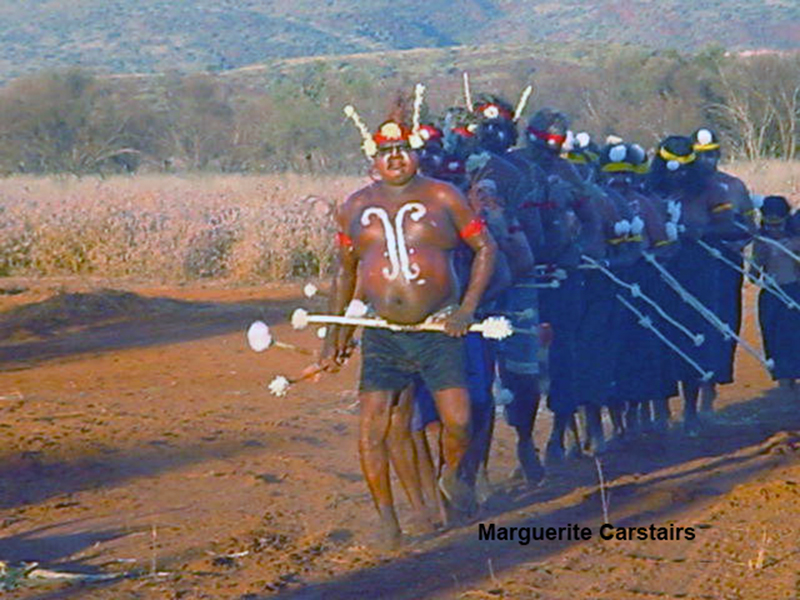 Corroboree at Newman in West Australia in 2003 (1/5)