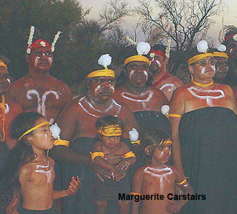 Corroboree at Newman in West Australia in 2003 (5/5)