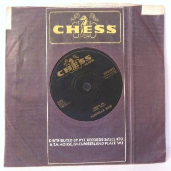 Rescue Me Fontella Bass 45 rpm Chess Single