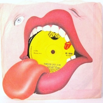 The Rolling Stones Tumbling Dice single