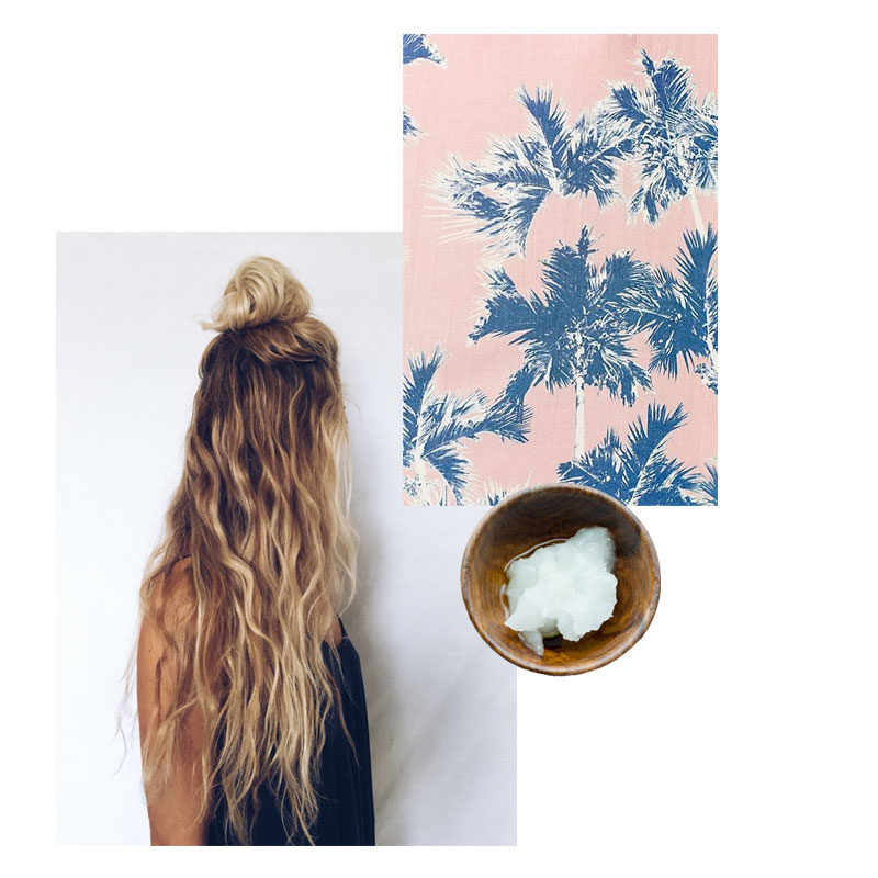 coconut sea salt beach waves