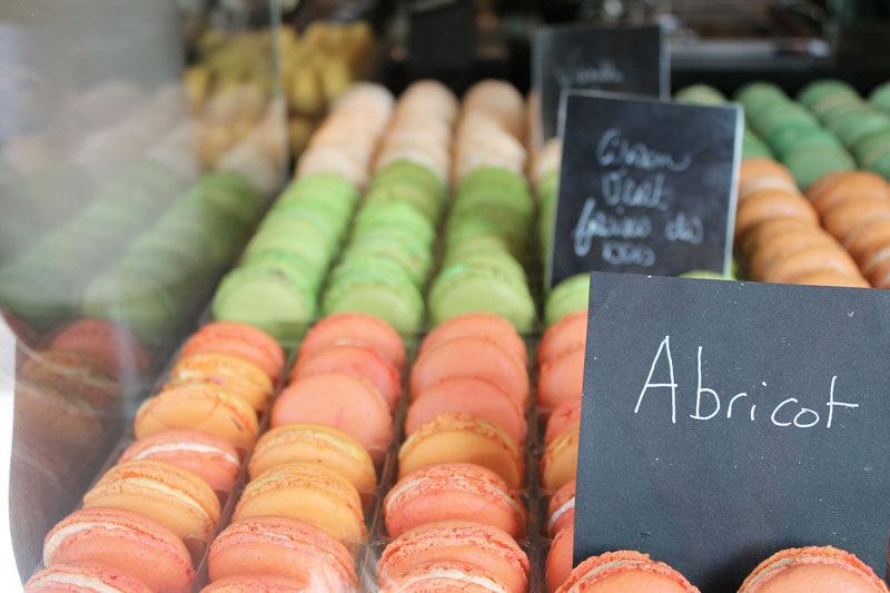 macarons abricot