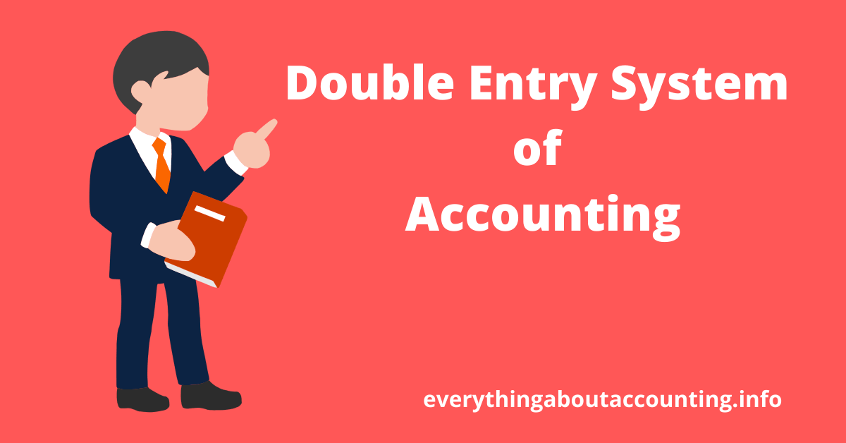 Double Entry System of Accounting