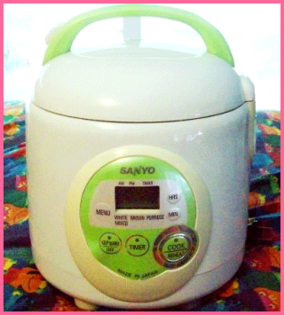 Garage Sale: Rice Cooker