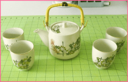 Salvation Army: Tea Set