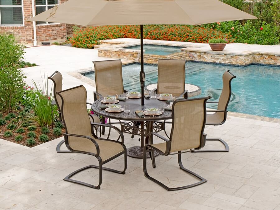 7 c spring patio chairs to help