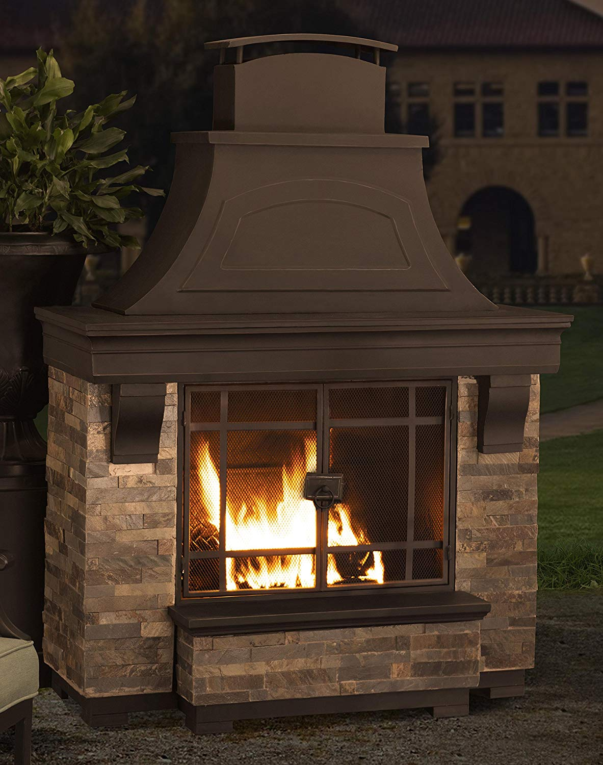 Outdoor Fireplace Kits The Perfect Addition To Your Patio