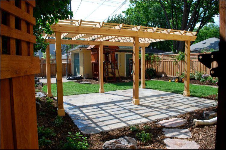 15 Amazing Pergola Ideas for Small Backyards on Covered Pergola Ideas  id=66369