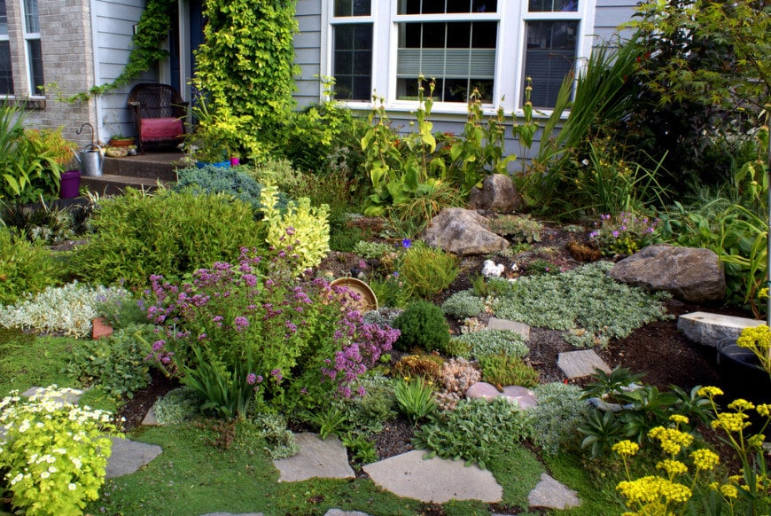 Rock Garden Ideas: How to Create the Perfect One for Your Yard on Backyard Rock Garden Ideas id=61274