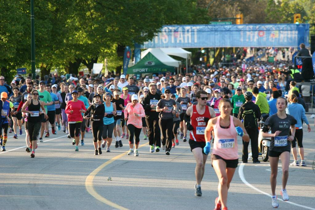 BMO Vancouver Half Marathon - photo by Carmen Marin