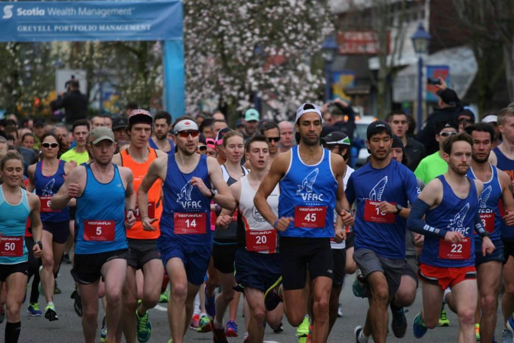 West Van Run - photo by Carmen Marin