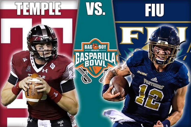 timeless design 8cd9f 1e50e Gasparilla Bowl: Temple Vs Florida International Preview ...