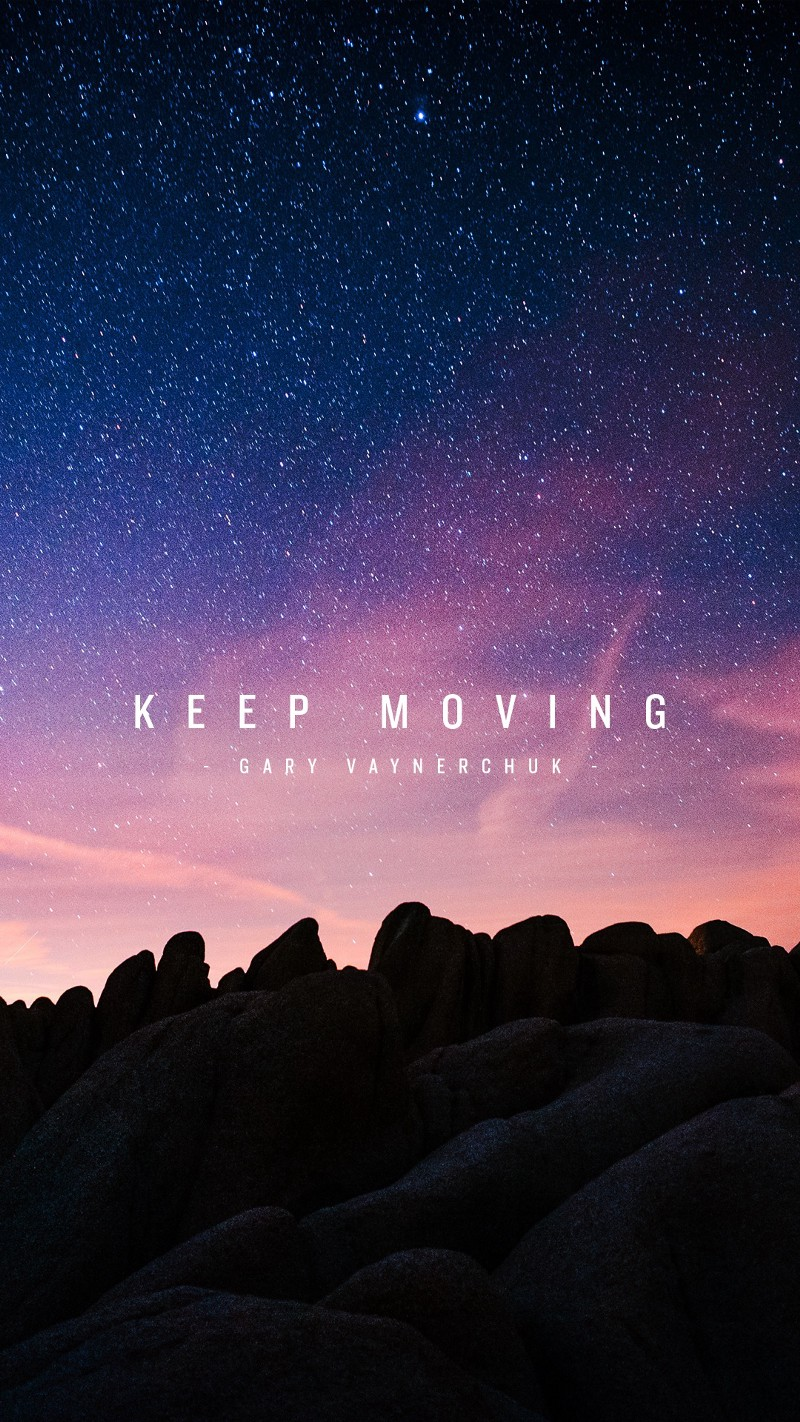 Keep Moving by Gary Vaynerchuck