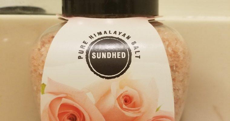 Product Review: Sundhed Himalayan Bath Salts
