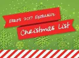 Elko's 2017 Exclusive Christmas List