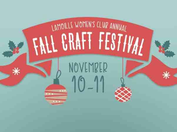 Lamoille Women's Club Annual Fall Craft Festival