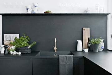 Zwarte keuken