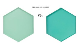 Design on a Budget - Hay vs Blokker