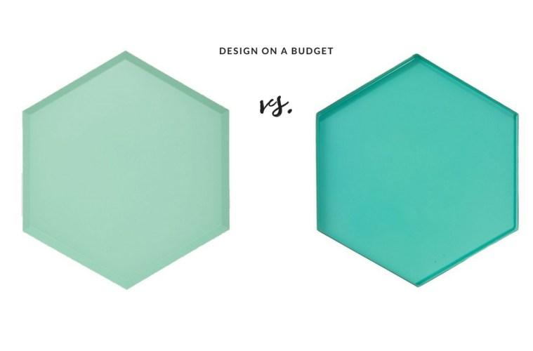 Design on a Budget - Hay vs Blokker