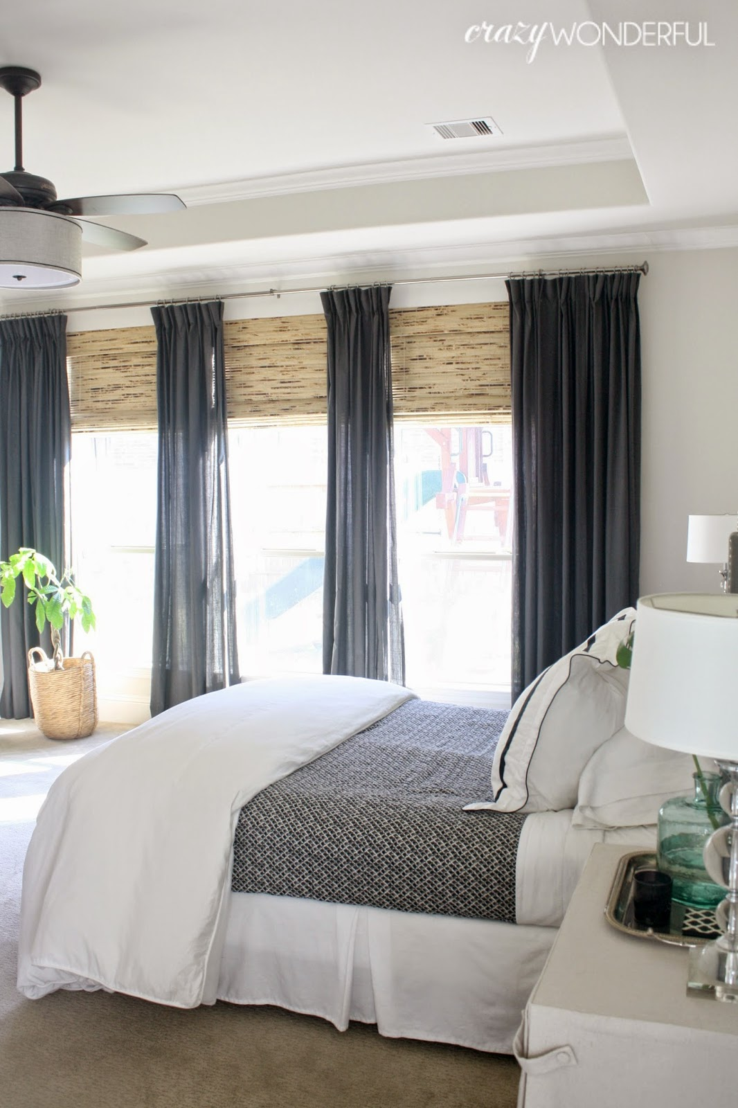Master Bedroom Window Treatments | everything emelia on Master Bedroom Curtain Ideas  id=75223