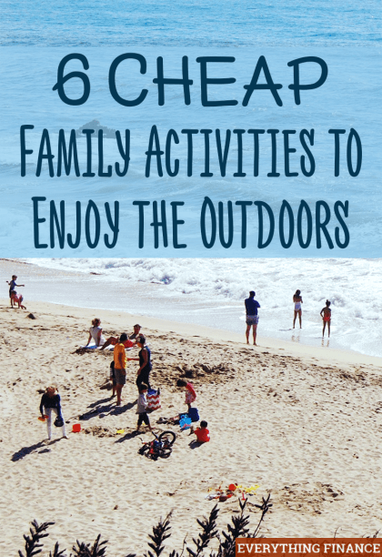 Looking for cheap family activities everyone can enjoy now that the warm weather is here? We have six! Keep your children entertained on a budget.