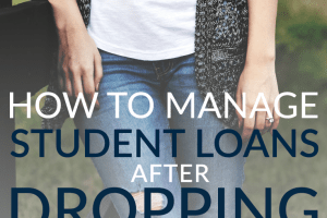 Not everyone that goes to college graduates. Managing student loans after dropping out is a challenge, but it's a doable one. Here are 6 tips to help you!