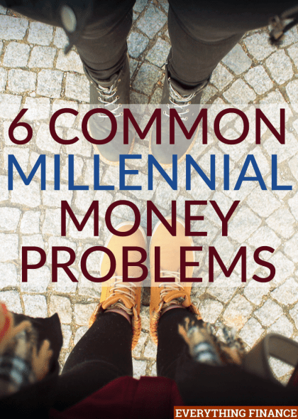 Millennials are facing a lot of life changes that can have a huge impact on their finances. Here are six of the most common millennial money problems.