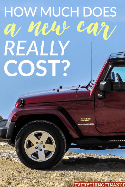 There's more to buying a new car than just the price tag of the car itself. Find out what other costs you need to factor in to see how much a new car really costs.