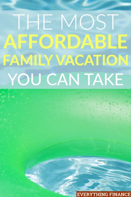 Crushed that you can't afford to take a family vacation this year? You may be able to afford one if you take a different approach, like the one outlined here!