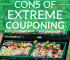 Is extreme couponing worth the time and hassle? Here's a list of pros and cons to help you decide if it's beneficial for your family.