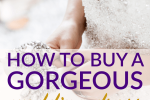 Instead of opting for a mediocre dress to satisfy your budget, consider trying these routes to finding a gorgeous wedding dress for less.