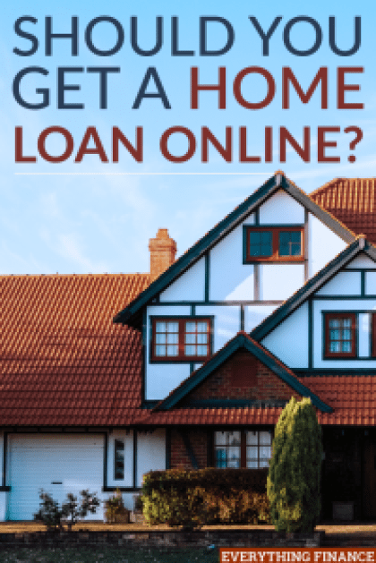 Should you get a home loan over the internet for C home loans