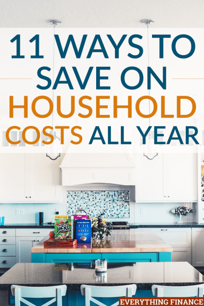 There are tons of ways to save on household costs. Look for ways to save on your household expenses every day and keep more money in your pocket.