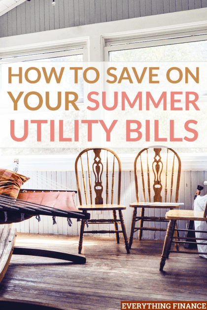 You don't have to live in a hot bed to save on your summer utility bills. Here are a few tips to help you keep cool and save money.