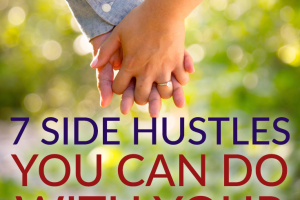 Making extra money with your partner can be a fun way to spend time together and fund date night. Here are some side hustles to do with your partner.
