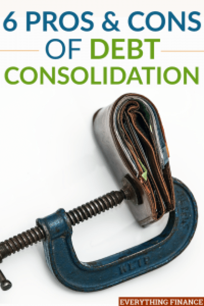 Debt consolidation can help you save money on interest and pay off your debt faster when done right. Find out the pros and cons of debt consolidation here.