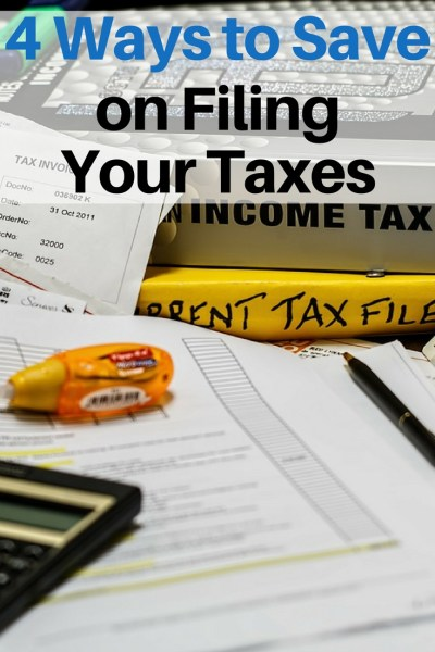 Filing taxes is not my idea of a good time. Even though I want to get it done quickly and easily, I also don't want to over pay. Here are a few ways to save on filing taxes while also saving time.