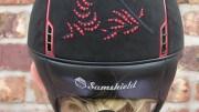 Sparkle This Christmas with the Samshield Flower Swarovski Premium Helmet