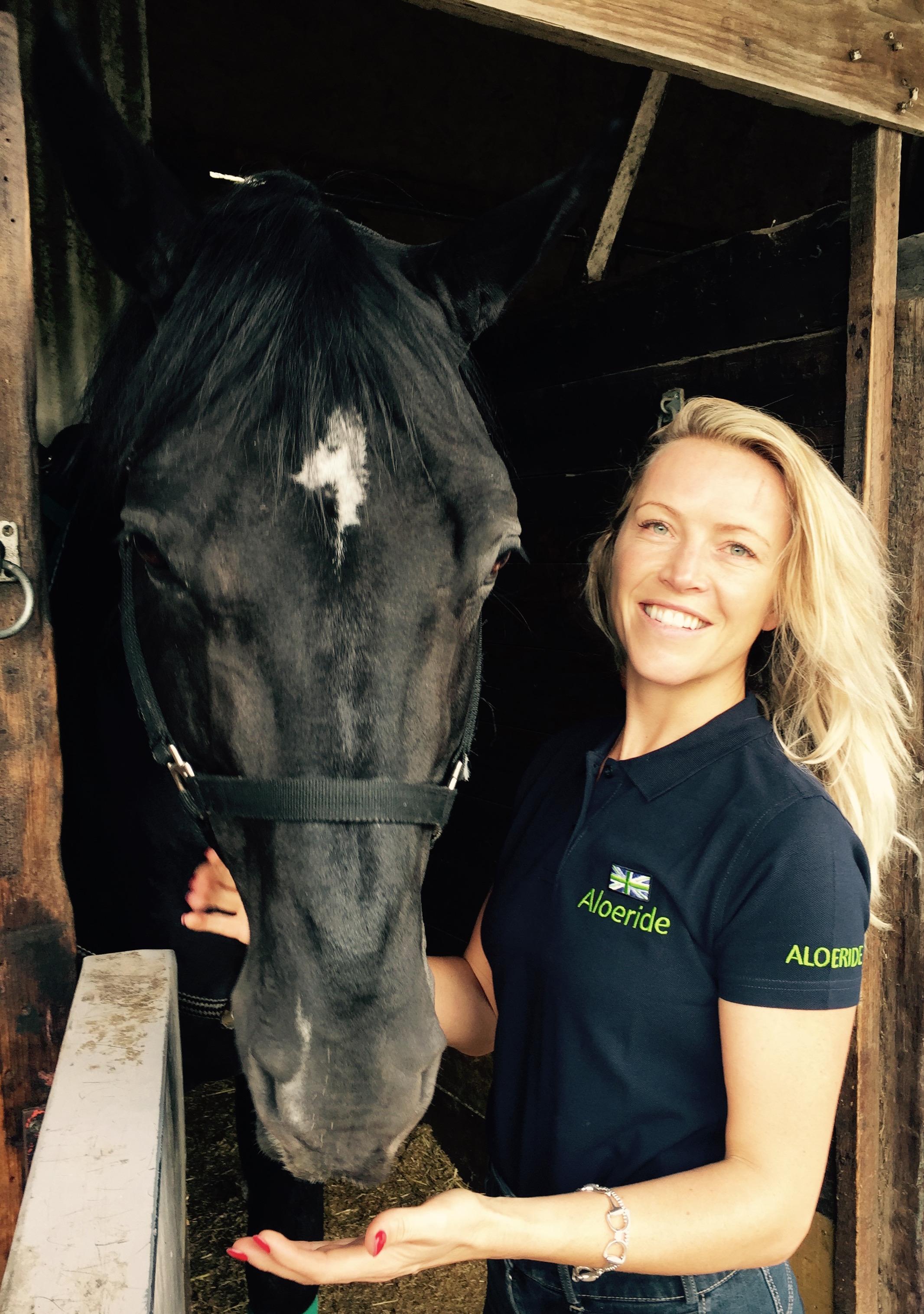 Leah Beckett Dressage Rider & Aloeride Sponsored Rider
