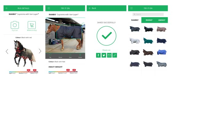 Horseware APP Image 1