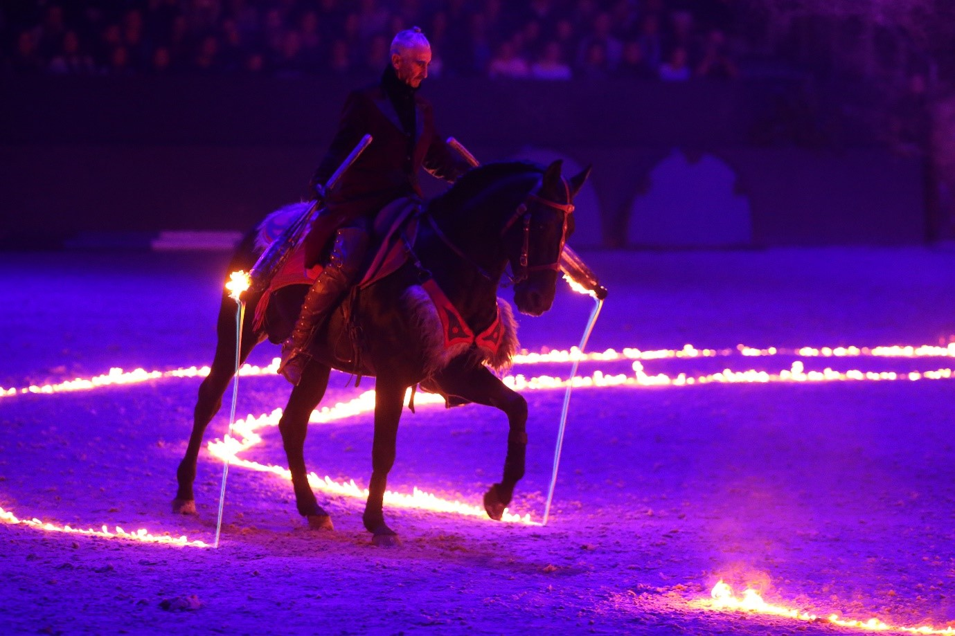 Vulcanium, a new awe-inspiring act is set to take centre stage at Horse of the Year Show (HOYS) 2016
