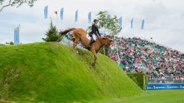 William Whitaker wins the Equestrian.com Derby at Hickstead. Image (c) Craig Payne Photography