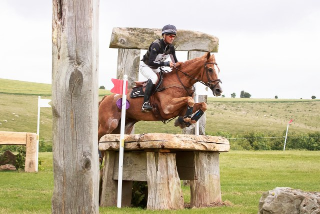 Andrew Nicholson riding Nereo enroute to victory in leg four of the Event Rider Masters at the Barbury International Horse Trials Photo Credit: Libby Law Photography & Eventridermasters.tv