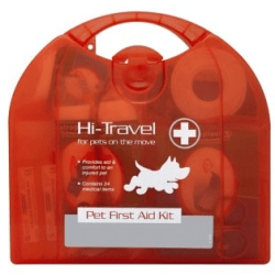 dog first aid kit yard dog